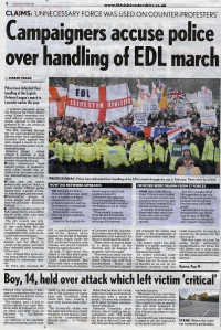 Leicester Mercury EDL March 12 06 2012