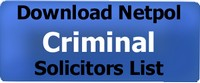 Download the Netpol Criminal Solicitors List