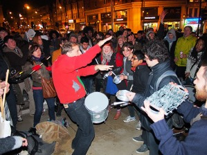 Thatchers death prompted street parties in Brixton and Bristol on Monday night
